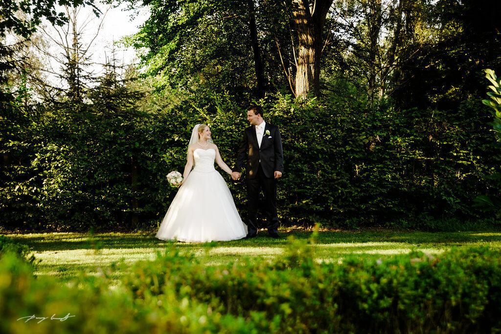 Brautpaar Fotoshooting Wulfsen Hochzeit