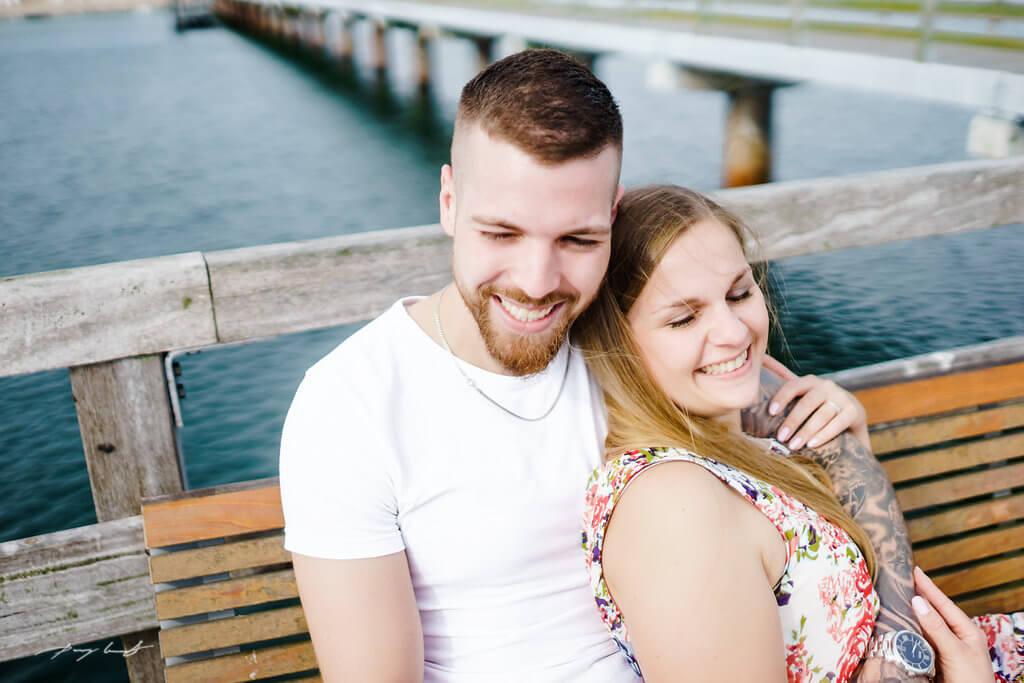 Sie und Er in Timmendorf Paarshooting