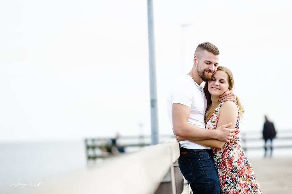 Sommer Meer Timmendorf Engagement