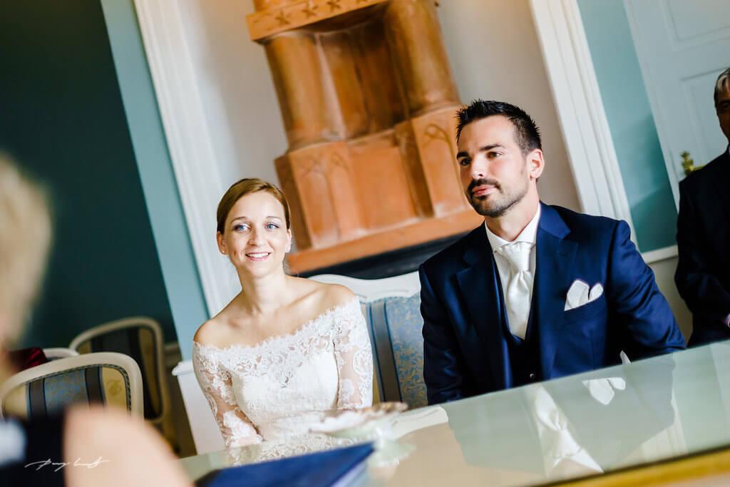 braut und bräutigam hochzeit fotografie trauung