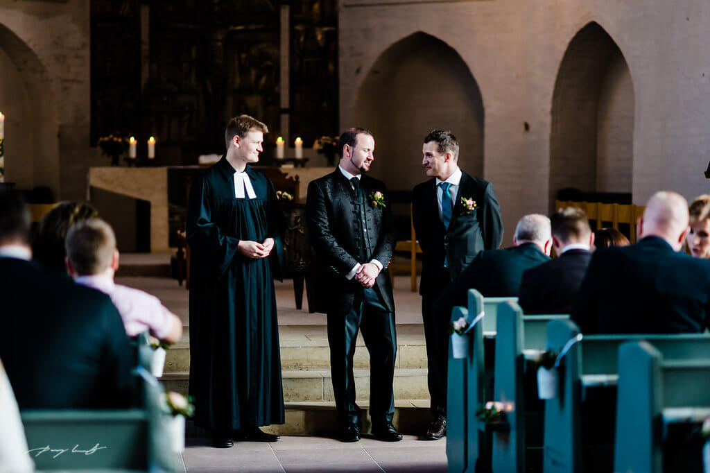 pfarrer bräutigam hochzeit kirche st. marien winsen