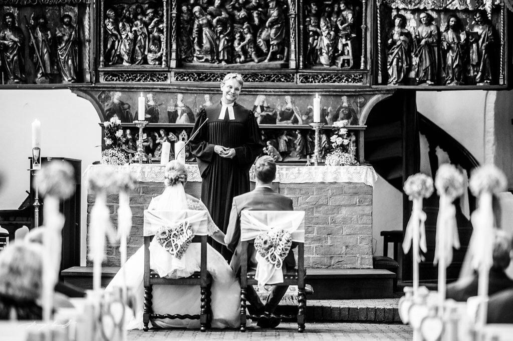 trauung im kloster lüne brautpaar hochzeitsreportage fotografie
