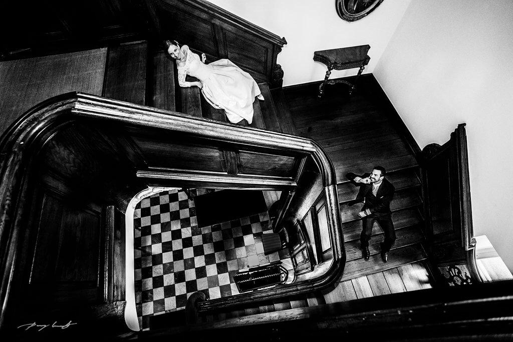 auf den stufen im schloss fotografie ahrensburg hochzeitsfotograf
