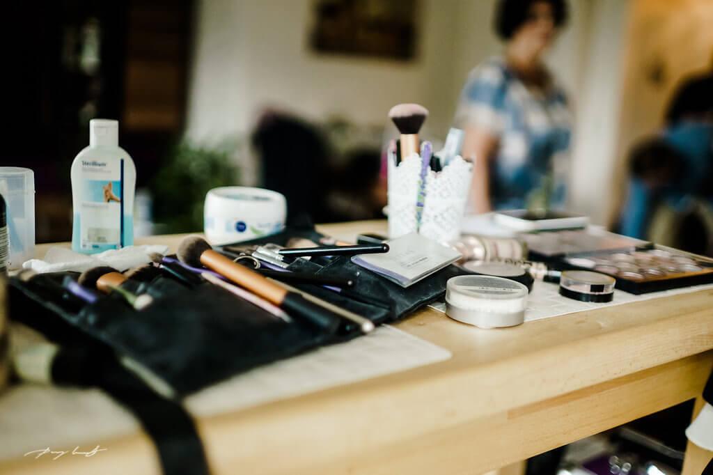 makeup vorbereitung trauung braut hochzeit