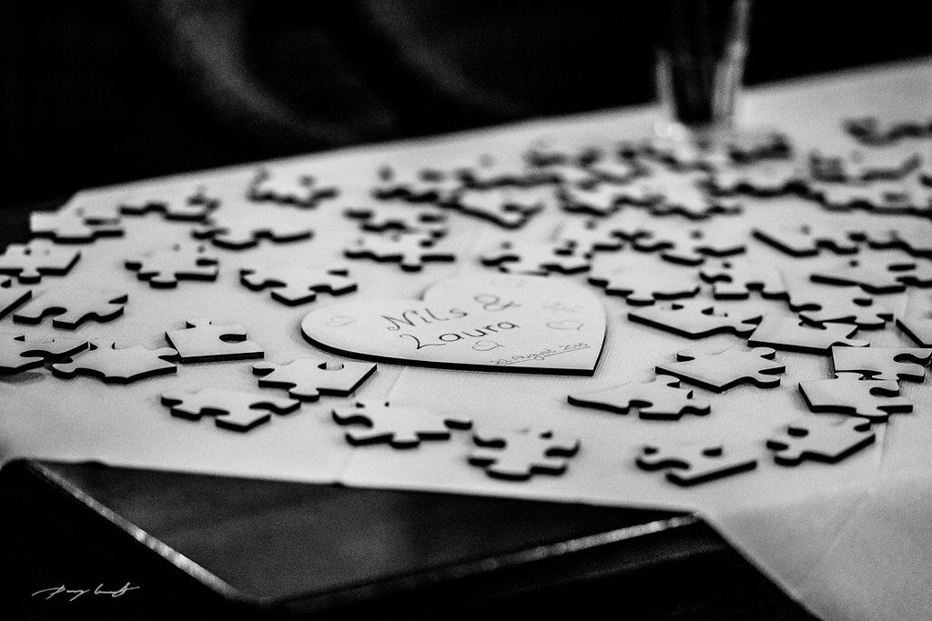 puzzle hochzeitsreportage feier im bootshaus ilmenau