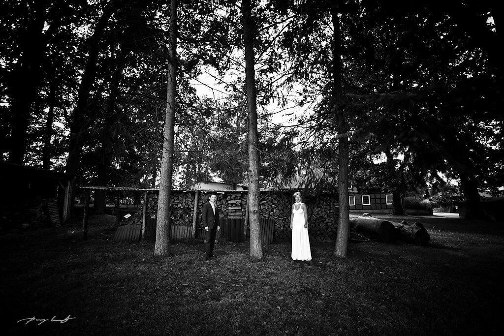 brautpaar scwarz weiß hochzeitsfotografie wriedel gashof wischhof