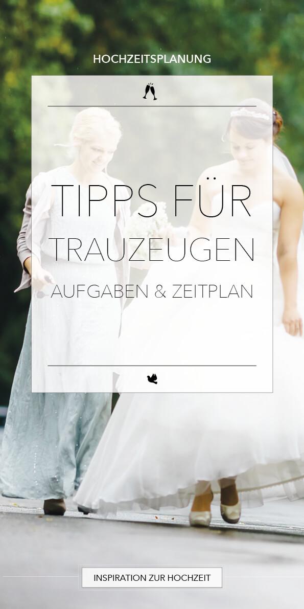 Aufgaben von Trauzeugen auf einer Hochzeit
