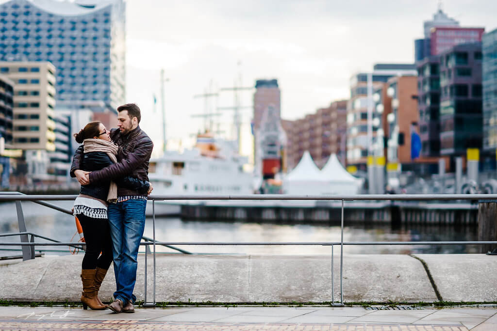 pärchenshooting engagement speicherstadt